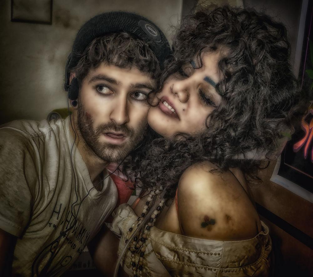 Party Couple by Jim Merchant