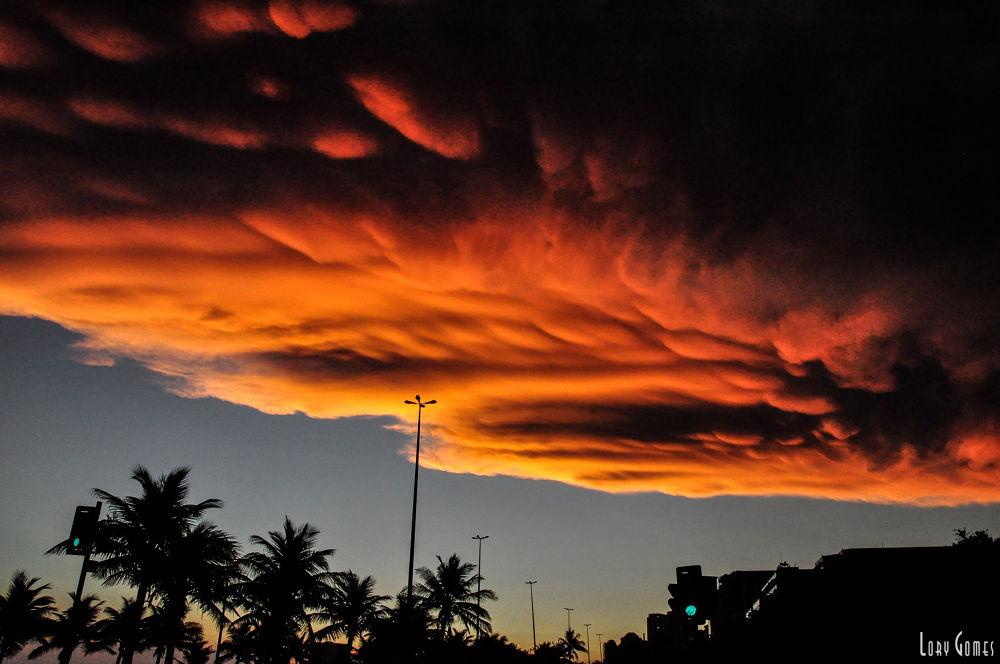 Cloud Rio de Janeiro Brazil  by Lory Gomes