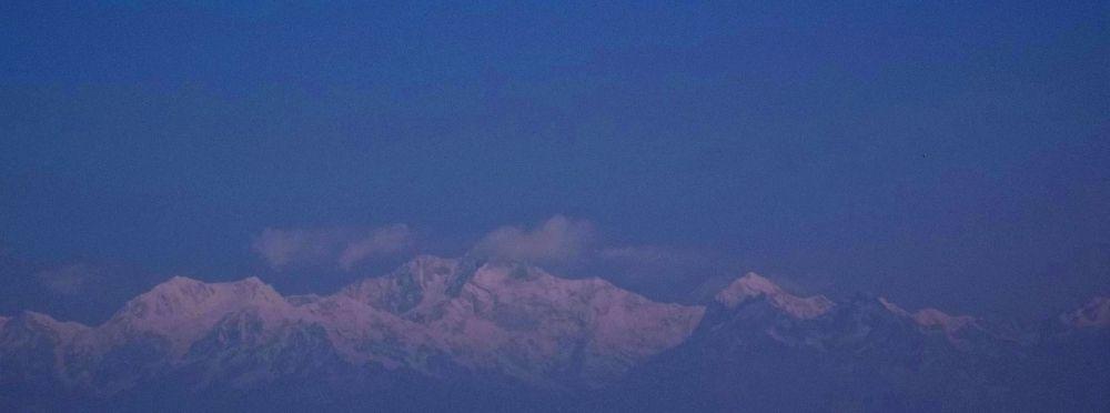 Kanchenjunga peak.....3rd highest in the world by arindam ganguly