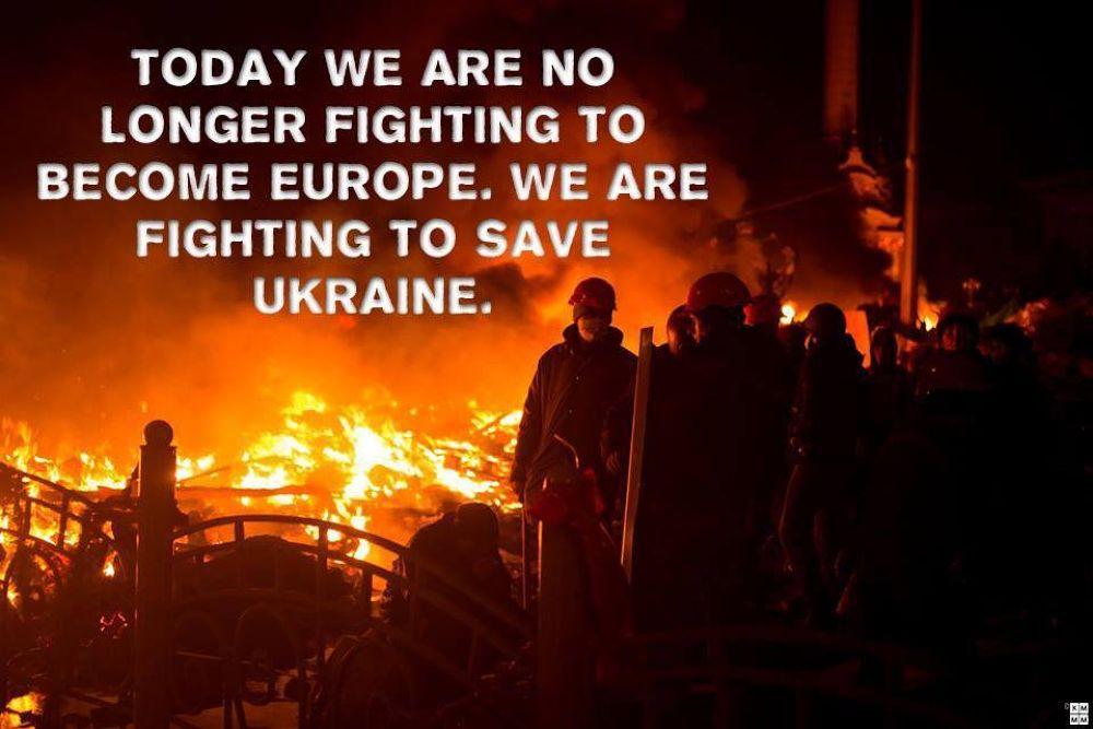 Ukraine. Kyiv.19/02/2014 by Tatyana Homenskay
