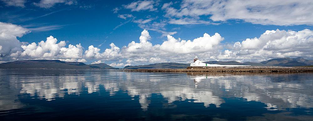 Inishgort Lighthouse by Kevin Derrig