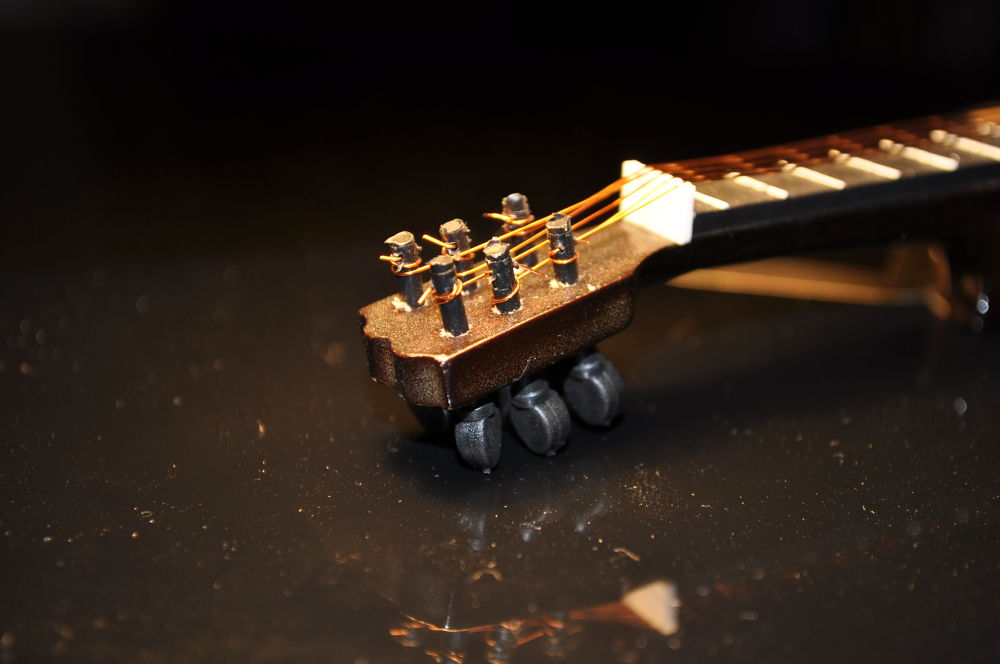 My little, tiny guitar by Paulo Nobre