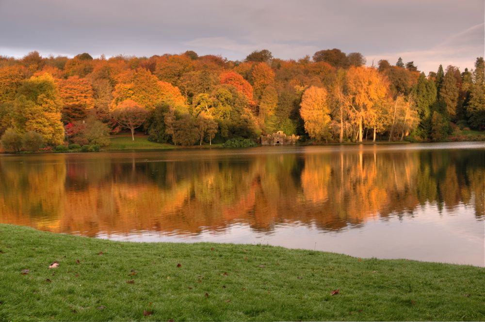Stourhead Autumn by John McNeilly
