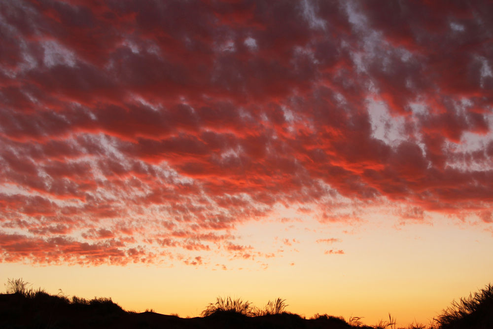 Clouds at Sunset, Namibia by Chene Emmerick