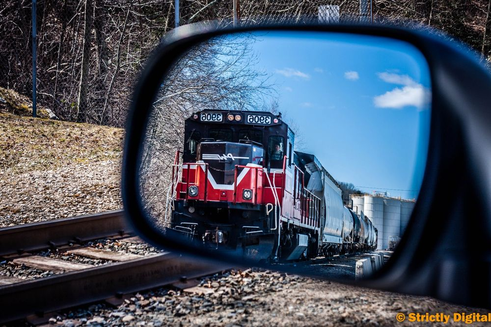 Train is coming by James T. Futrell