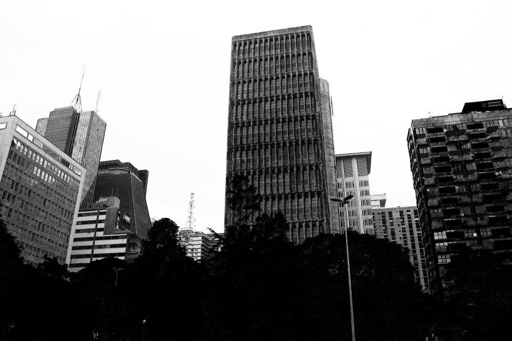 grey city  by Anna Brandão