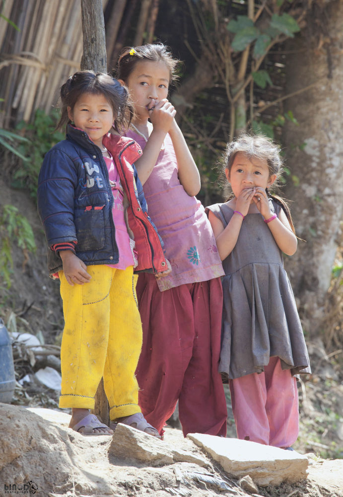 Innocent Faces of Nepal....  by Binod Shakya