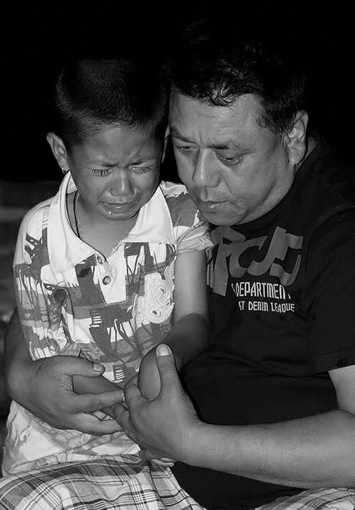 Father's Love  by Binod Shakya