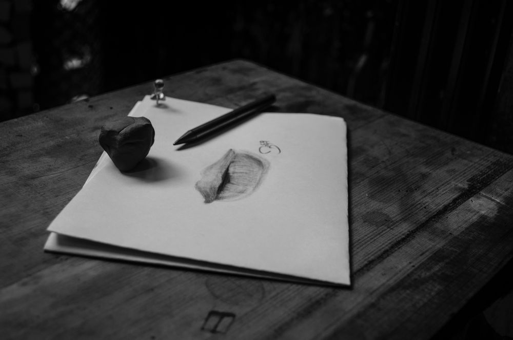 sketching by Akshay Shinde