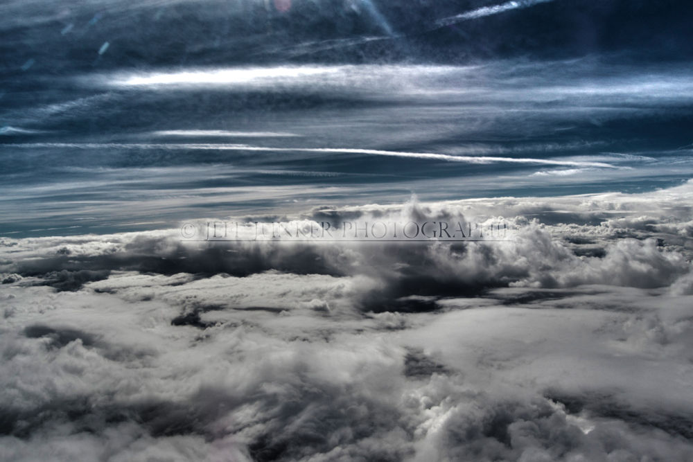 Over the Clouds by Jeff Junker Photographie