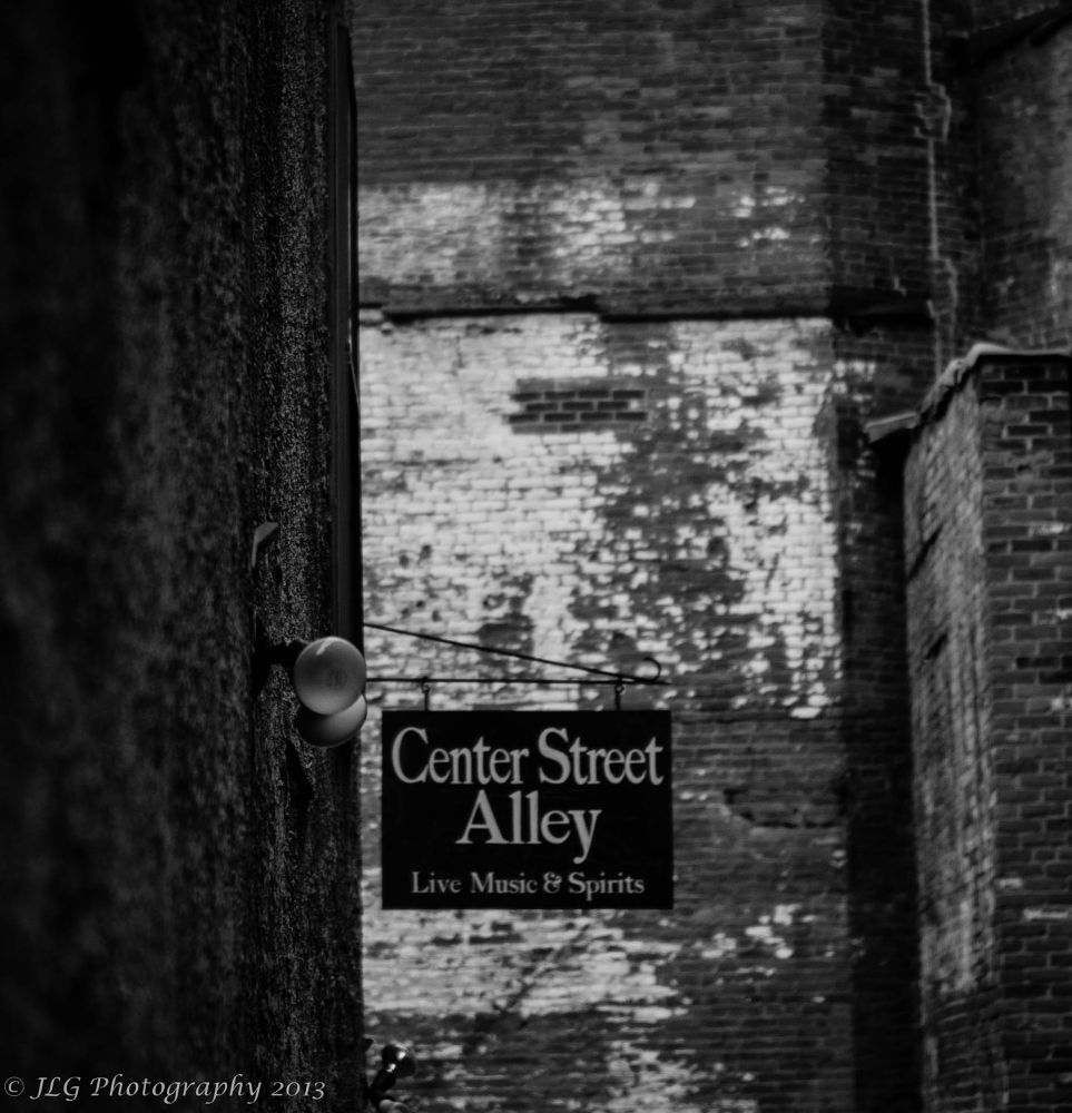 The Alley by Jim Gasco