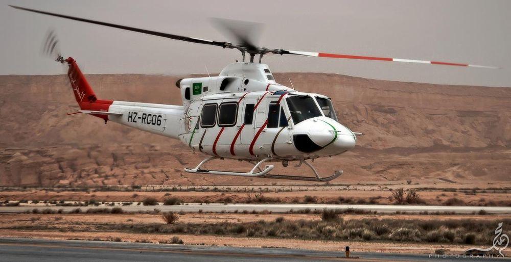 Saudi Arabian Air Ambulance by M.Khan  م.خان