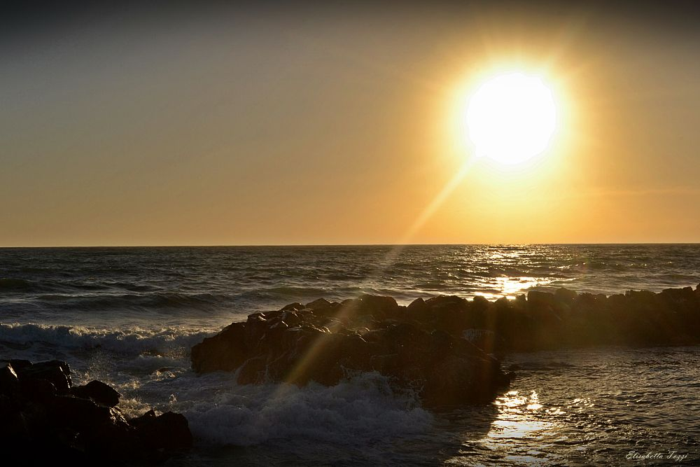 sunset by Elisabetta Tozzi