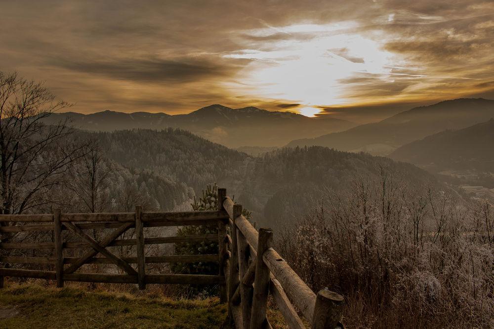 before sunset by Martin Kriebernegg