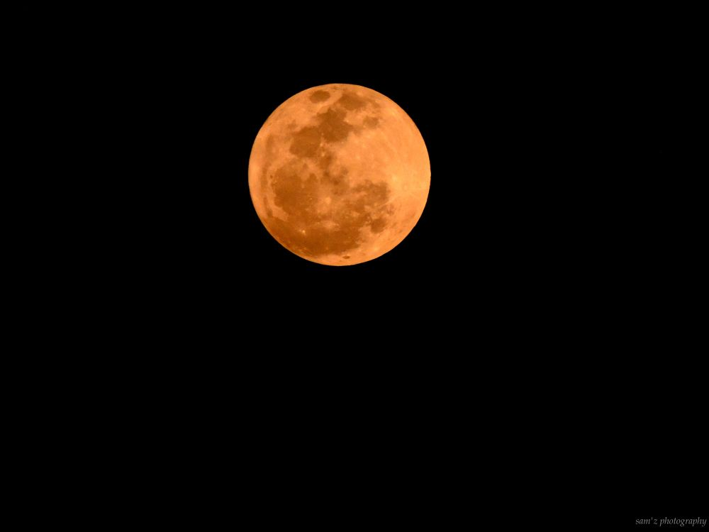 full moon by Shyamonto Hazarika