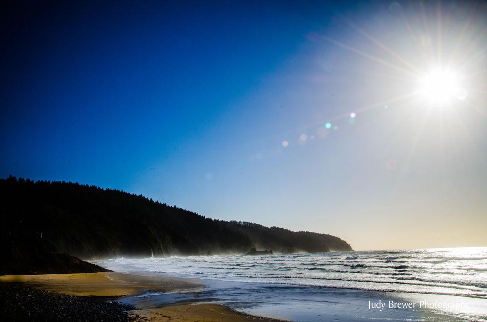 Ocean Blue by Judy Brewer