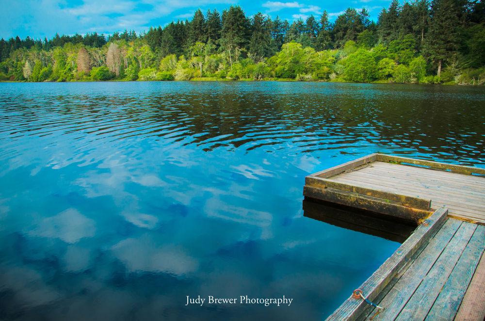 Blue Lake by Judy Brewer