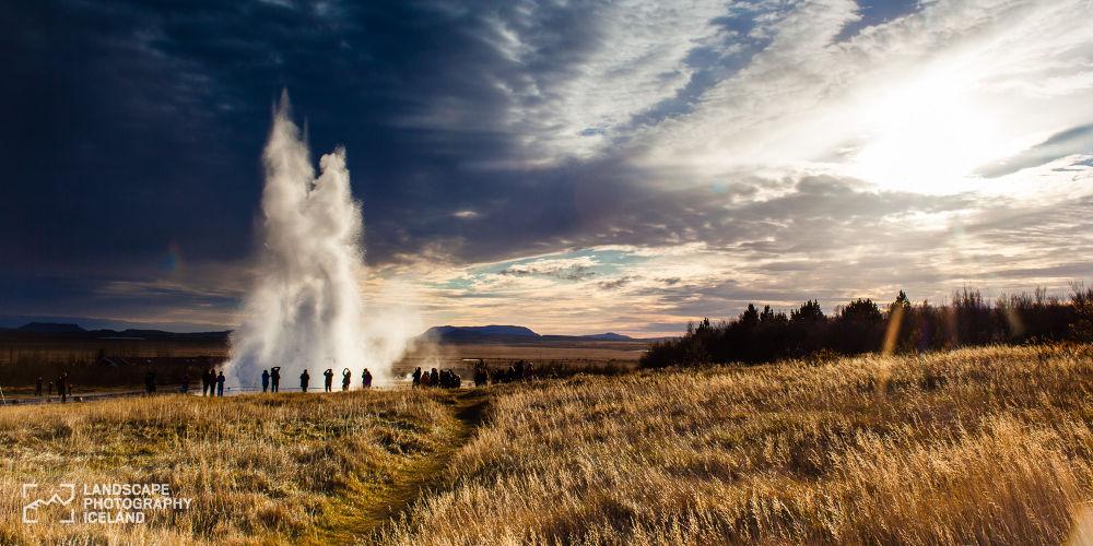 Strokkur geyser by Páll Jökull photo