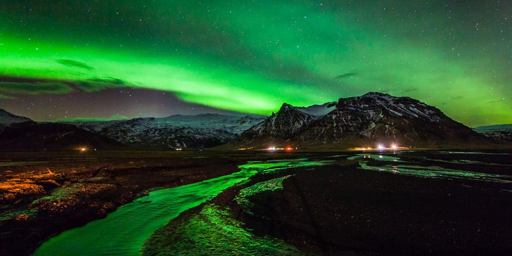 Eyjafjallajökull Aurora by Páll Jökull photo