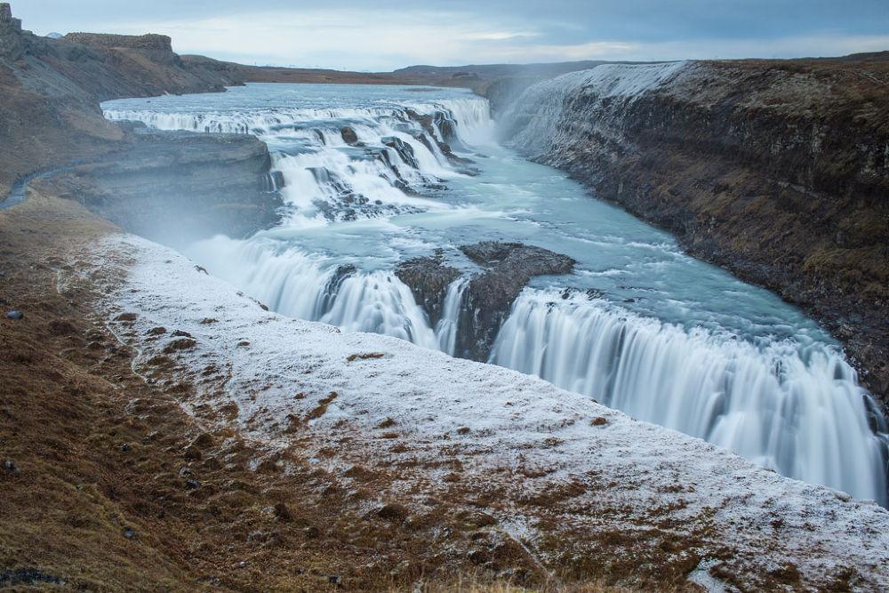 Gullfoss waterfall by Páll Jökull photo
