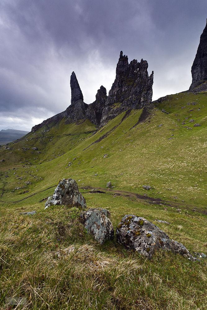 Trotternish ridge The Needle, Scotland by Páll Jökull photo