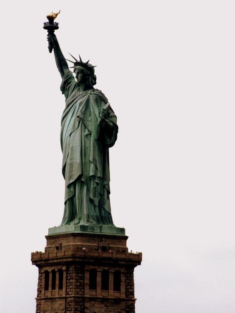 Statue of Liberty by Monika Wrońska