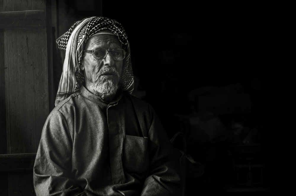 Old man by HussainAlalaw