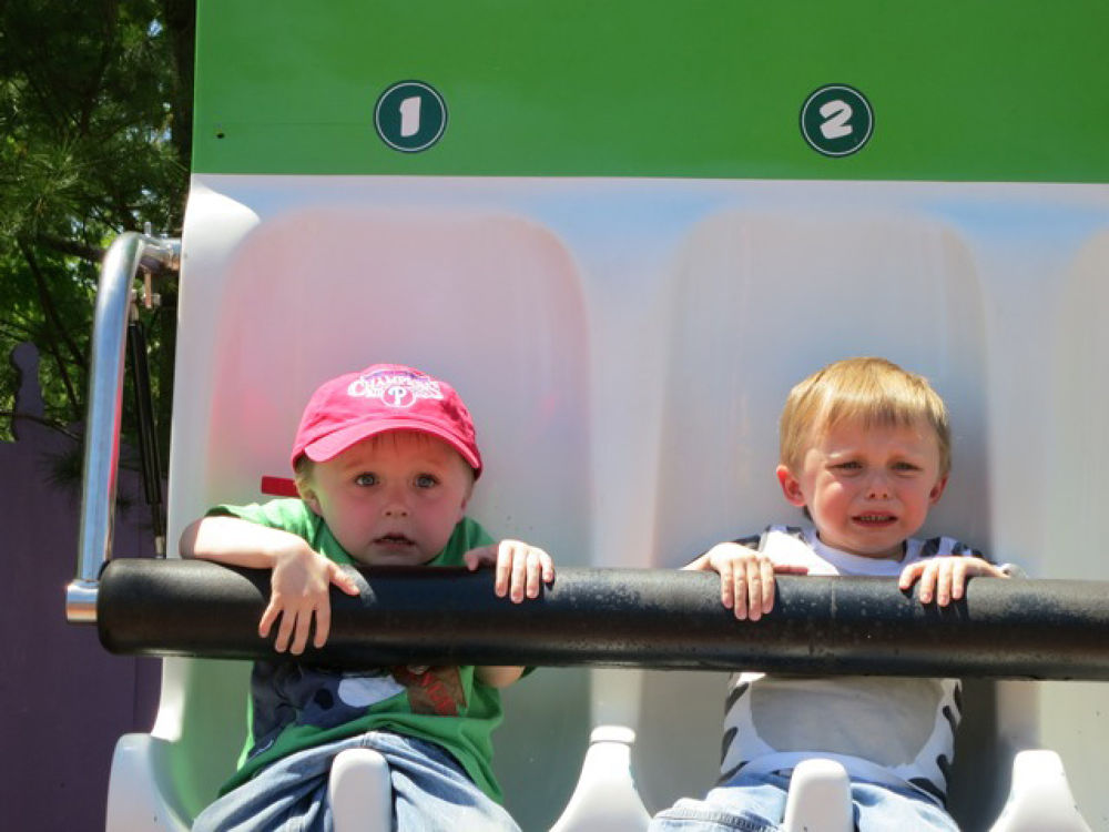 """finn and liam barnosky     """"maybe next time we will skip this ride"""" by jackbarnosky"""