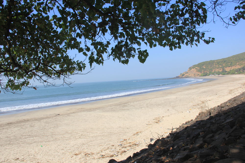 a beautiful beach and an awsome place for camping. :-) by Nayan Patel