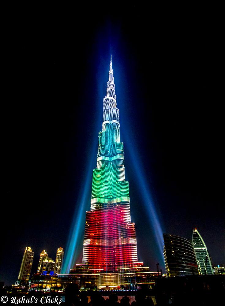 Burj Khalifa, Dubai by Rahul Bakshi