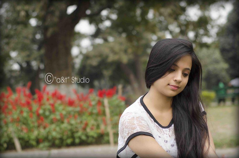A sweet girl..  by Tanmoy Adhikary
