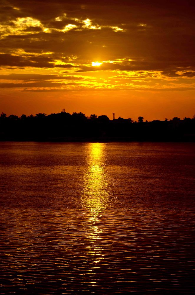 Sun Set.... by Tanmoy Adhikary