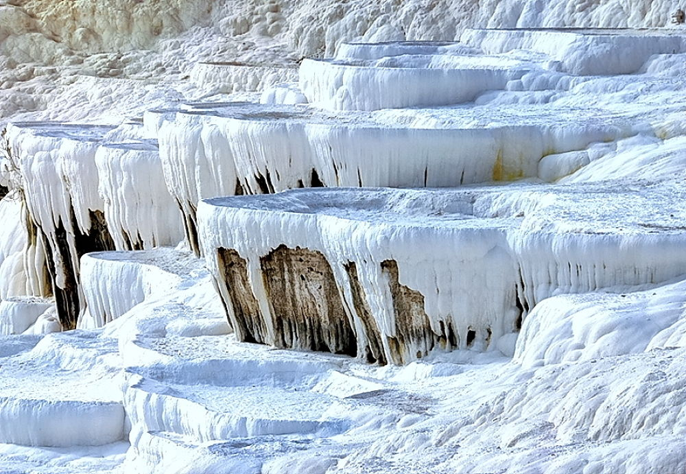 Pamukkale: unusual limestone terraces by zbych41