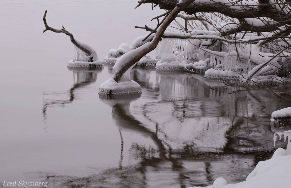 ice scape by Fred Skymberg