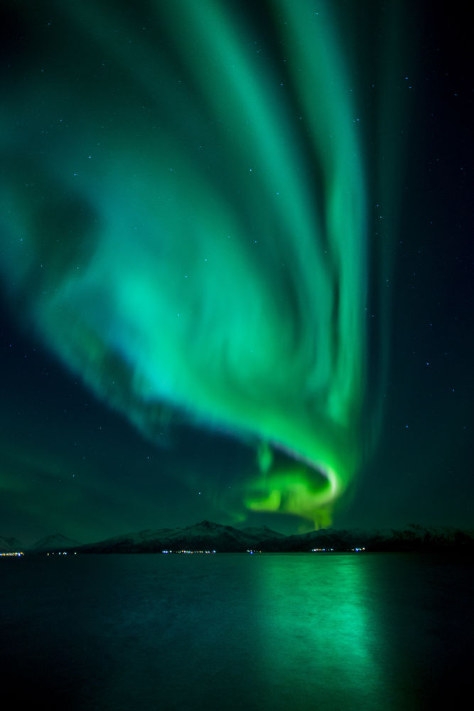 Aurora Borealis is the Olympic flame for all. by Rita Jakobsen