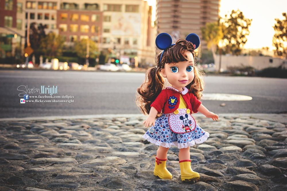 Disney Classic Mickey Mouse Doll by Sharon Wright