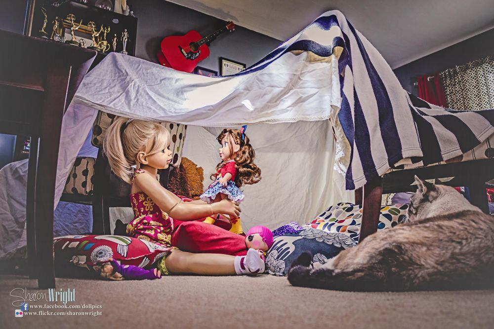 A Fairy Tale Life - The Blanket Fort by Sharon Wright