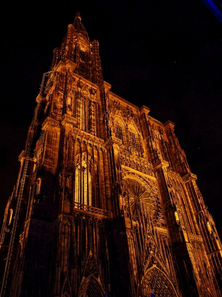 Cathédrale Strasbourg Nuit by Alexandre