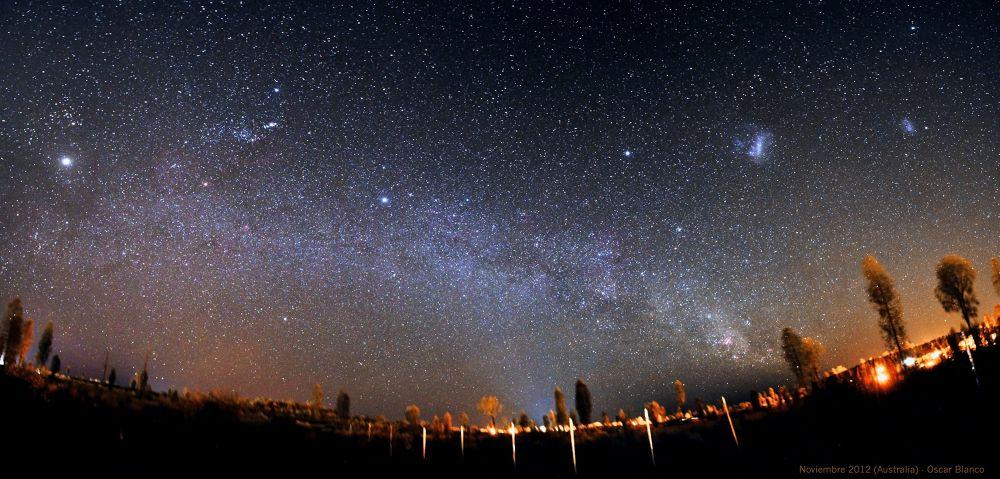 Austral Sky by Oscar Blanco