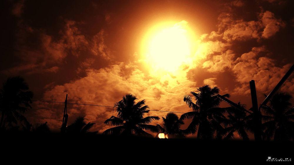Sun is alone , Still it SHINES  by Arjun