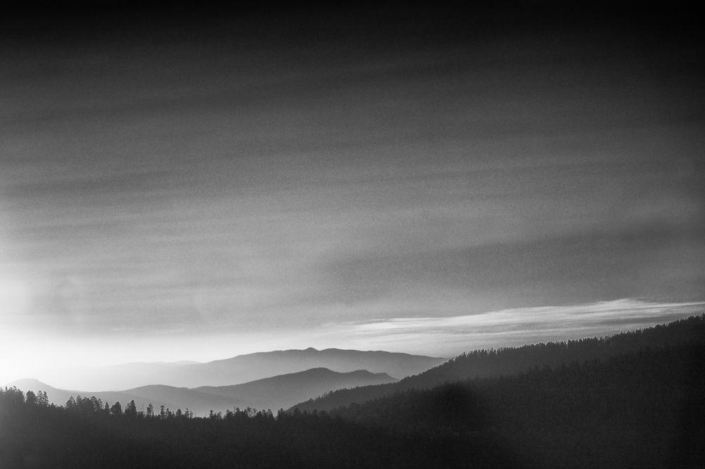 Sunrise White Mtns III by Arne Hansen