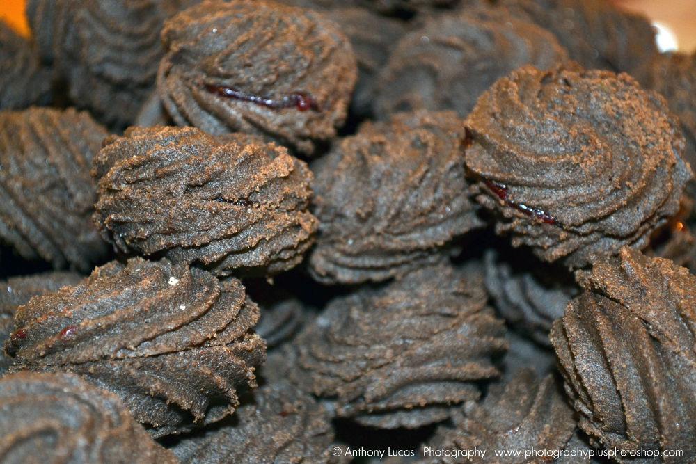 strawberry chocolate cookies by Anthony Antonio