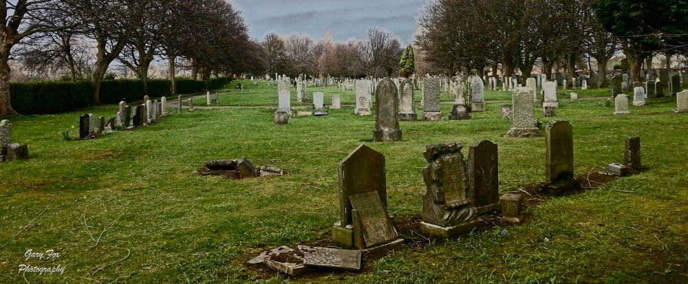 The Grave Yard by Gary Fox
