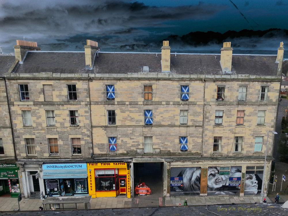 Scottish Tenement  by Gary Fox