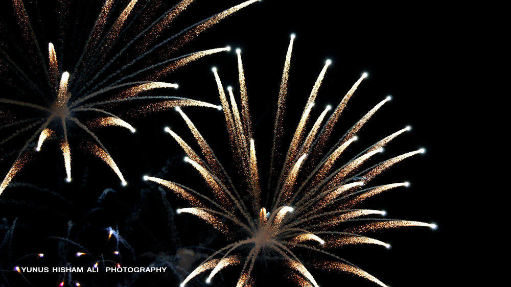 NEW YEAR FIREWORKS by YUNUS HISHAM ALI