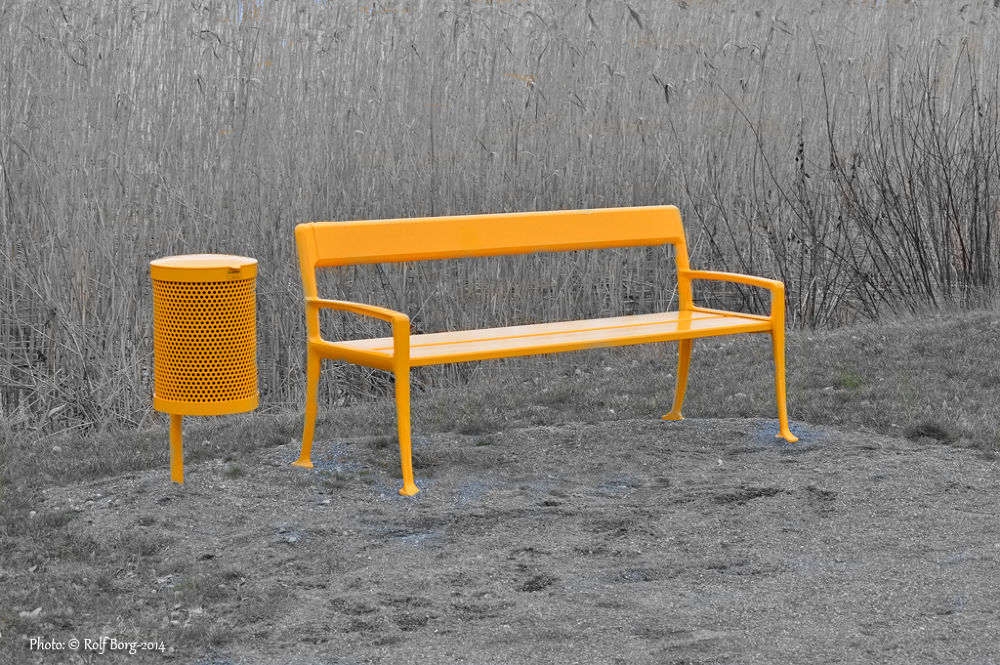 Yellow by Rolf Borg