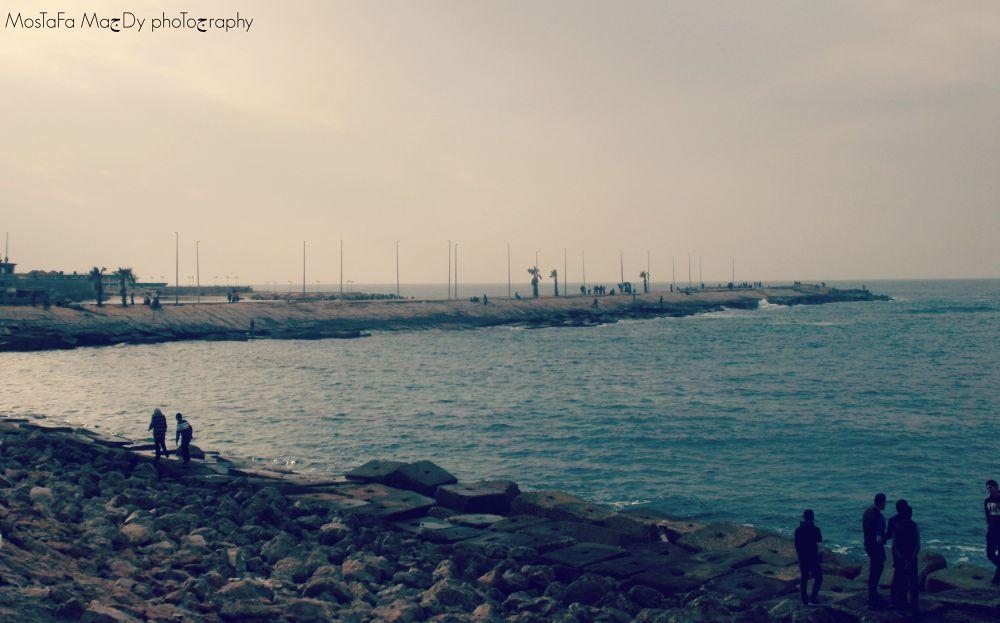 The sea <3  by Mostafa Magdy II