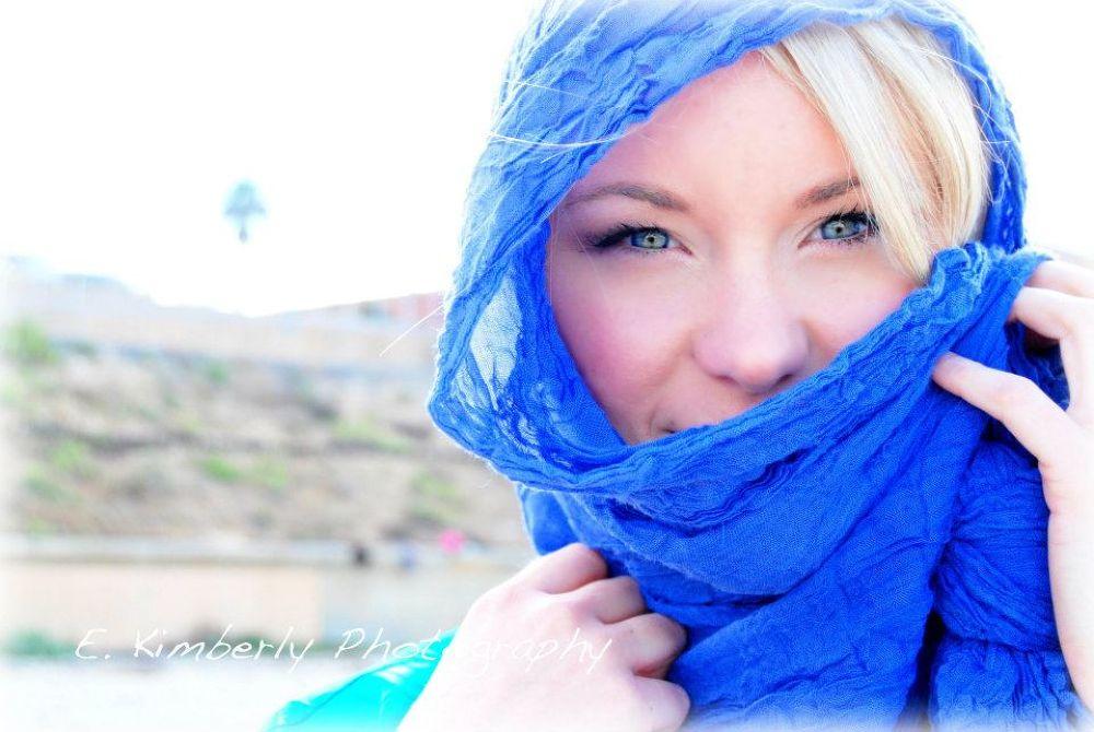 Miss Blue Eyes by ekimberlyphotography