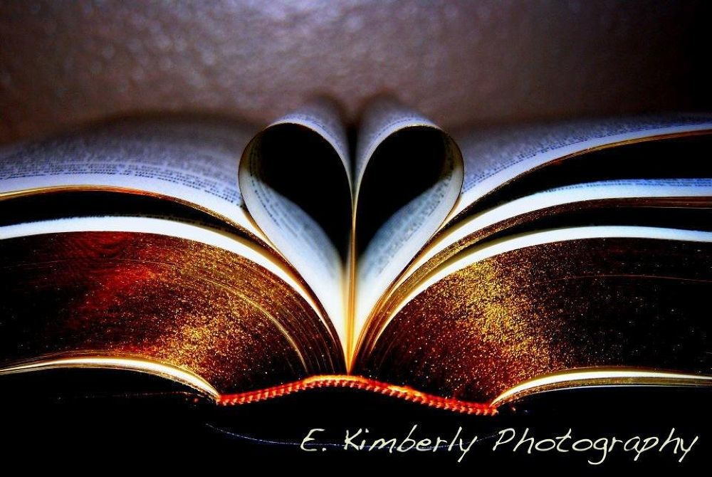 Keep Your Heart in a Book by ekimberlyphotography