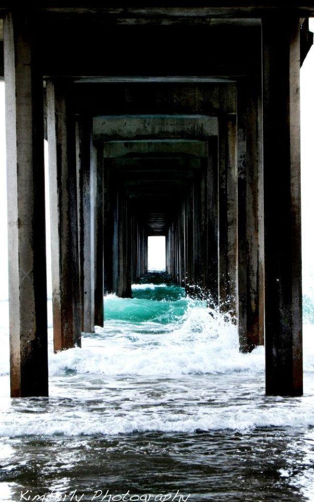 La Jolla Pier by ekimberlyphotography